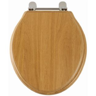 Greenwich (Solid natural oak) Toilet Seat